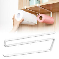 Under Cupboard Unit Shelf Kitchen Paper Towel Roll Holder Hanger Storage Rack US