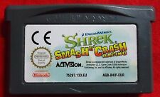 Shrek-Smash n 'Crash Racing-Nintendo Game Boy Advance GBA-agb-b4ip-eur