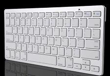 Ultra Slim Bluetooth Wireless Keyboard for Apple iPad iPhone Android Mac Windows