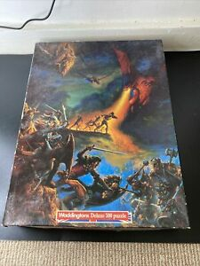 Dugeons And Dragons Waddingtons Jigsaw Puzzle, 500 Pieces