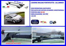 Kit Barre Portatutto -Portapacchi -Portabagagli-Citroen G. C4-PICASSO 2006>2013
