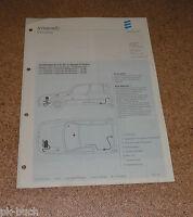Istruzioni Montaggio Eberspächer Riscaldatore B 5 W Sc Per Nissan Primera Stand