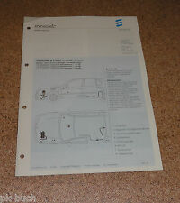 Einbauanleitung Eberspächer Standheizung B 5 W SC für Nissan Primera Stand 05/01
