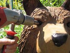 Augenfräser,Carving,Schnitzen,Kettensäge,Werkzeug,Augen
