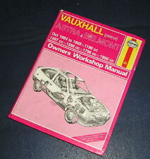 1984-88 VAUXHALL ASTRA/BELMONT 1.2-2.0 PETROL HAYNES WORKSHOP MANUAL NUMBER 1136