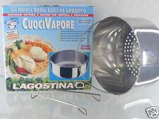 LAGOSTINA CUOCIVAPORE ACCESSORIO COTTURA PER PENTOLA A PRESSIONE  DIAMETRO 24 CM