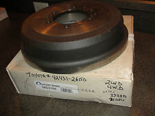 Toyota#43431-26150,Beck/Arnley#083-2164 Pick-Up,Tacoma,Tundra,T100 Rr.Brake Drum
