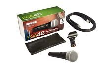 Shure Pga48-xlr Dynamic Vocal Microphone With Stand