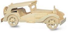 Coche de automodelismo y aeromodelismo de madera