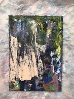 HASWORLD- ORIGINAL PAINTING CANVAS Abstract Expressionist Contemporary artsy