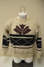 Vintage Bellocco Keneth Too Inc Wool Blend Winter Ski Sweater Women's M/L Rare