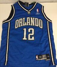 Kids Reebok Orlando Magic DWIGHT HOWARD #12 Basketball Sewn Jersey Youth SZ M