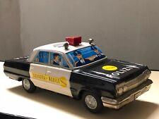 YONEZAWA GANGU Tokyo Chevrolet IMPALA POLIZIA SQUADRA MOBILE automodello latta 2