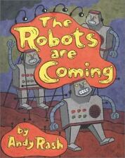 The Robots Are Coming And Other Problems NEW Andy Rash BOOK Ghostly POEMS Funny