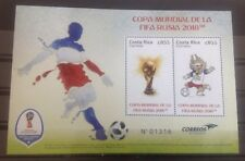 Costa Rica - Postfris / MNH - Sheet Fifa World Cup 2018