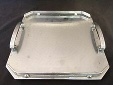 VINTAGE RANLEIGH MADE IN AUSTRALIA TWIN HANDLED 29cm SQUARE TRAY