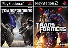 Transformers THE GAME & Transformers la vendetta del caduto ps2 formato PAL