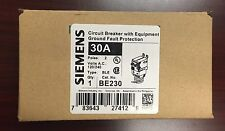 ITE/Siemens BE230 BL  2Pole 30Amps 120/240Volt w/ Equip. Protection Groundfault