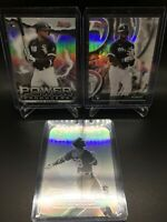 LUIS ROBERT 2020 Bowman's Best (3x)LOT w/Franchise Die-Cut Refractor+*READ DES*!