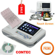 ECG600G Elettrocardiografo Digitale 6 canali 12 piombo EKG, Stampante+Software