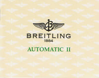 BREITLING AUTOMATIC 2 ANLEITUNG INSTRUCTIONS I458
