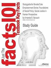 Studyguide for Brooks/Cole Empowerment Series: Foundations of Social Policy: Soc