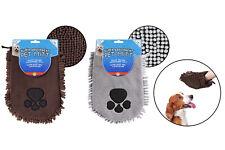 More details for pet mitt microfibre towel dog super absorbent quick drying washable 26.5 x 21cm