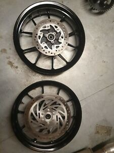 Ktm Rc125 Rc390 Wheels And Discs