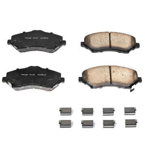 New Disc Brake Pad Set-Front Z17 Ceramic Brake Pads with Hardware, Front