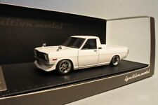 1:43 IGNITION MODEL IG1117 NISSAN SUNNY TRUCK LONG BED B121 WHITE model car