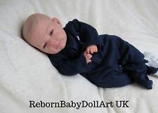 Yeux Ouverts bébé reborn poupée garçon-par rebornbabydollartuk