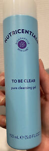 Nu Skin NuSkin Authentic Broadap.Nutricential TO BE CLEAR Pure CLEANSING Gel 5oz