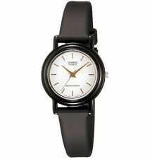 Casio Women's Black Resin Watch, Analog, Water Resistant, LQ139E-7A