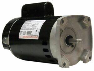 A.O. Smith B2854V1 1.5HP 115V/230V Square 56Y Pool and Spa Pump Motor