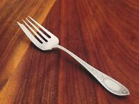 Whiting Mfg. Co. Sterling Silver Cold Meat Fork: Adam, 1907