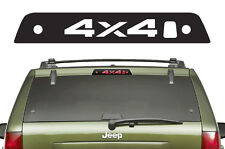 Vinyl Decal 3rd Brake Light 4X4 Wrap Kit for Jeep Grand Cherokee 05-10 Black