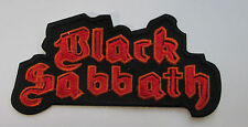 BLACK SABBATH COLLECTABLE RARE VINTAGE PATCH EMBROIDED OZZY METAL LIVE