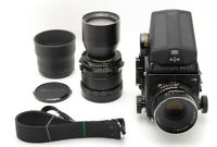 【Near MINT】 MAMIYA RB67 Pro S + Sekor C 127mm F/3.8 + Sekor 360 F/6.3 From JAPAN