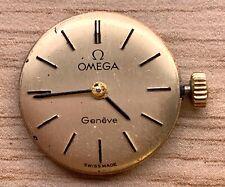 Omega Geneve Cal 625 manual vintage 18 mm NO Funciona for parts volante libre