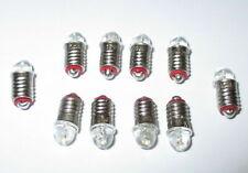 """LED Ersatzlampen für Hausbeleuchtungen E5.5 16-24V  -  10 Stück   """"NEU"""""""