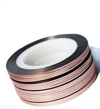 Rose Gold Nail Art Striping Tape Line Strips Nails Decoration Stickers 1mm