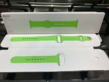 GENUINE APPLE WATCH SPORT BAND 42/44mm GREEN 2015 **RARE**