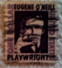 1967 Scott 1294 U. S. Eugene O'Neill, Author one used $1 stamp off paper