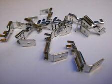 50 Steckverteiler unisoliert, Messing/ verzinnt, Steckmaß 6,3 bis 1,5 mm² Kabel