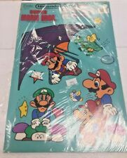 1989 Nintendo Super Mario Bros 7 piece decorating kit