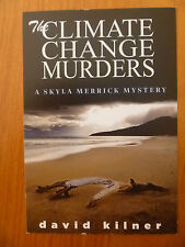 POSTCARD / PROMOTION CARD...THE CLIMATE CHANGE MURDERS BY DAVID KILNER...BEACH