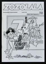 Henk Kuijpers # ZOZOLALA, Franka cover # 1994, nm++