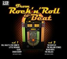 2CD From Rock 'N' Roll To Beat Music Best Of 48 Größte Hits Chuck Berry Beatles