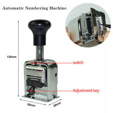 6Position Automatic Numbering Machine Chapter Marke Machine Digital Stamp 801651