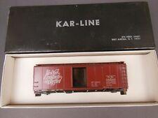 HO SCALE KAR-LINE NEW HAVEN 40' BOX CAR KIT